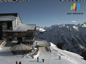 Nach 3 Tagen Schneefall nun ein bezaubernder Skitag